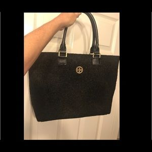Wool Tory Burch tote